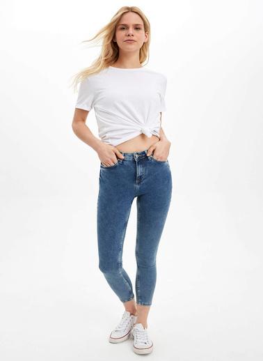 DeFacto Super Skinny Fit Jean Pantolon Mavi